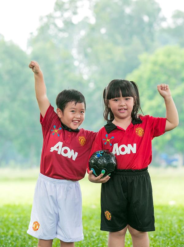 5 lợi ích tuyệt vời khi bé chơi thể thao