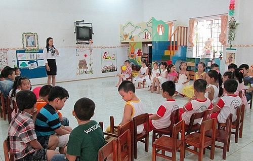 Tăng số trẻ tại mầm non tư thục lên 70 trẻ/lớp