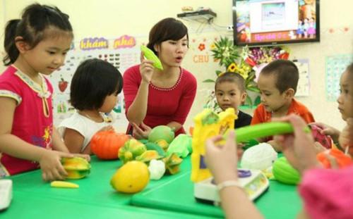 Hà Nội: Công bố danh sách 2.668 nhóm trẻ, mẫu giáo tư thục được cấp phép