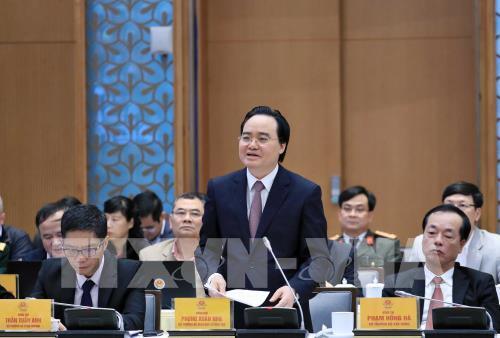 Bộ trưởng Phùng Xuân Nhạ: Đề nghị không tinh giản biên chế giáo viên mầm non