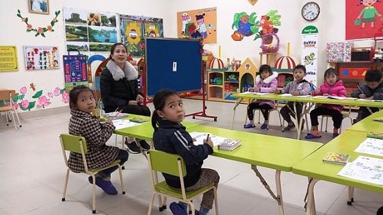 Phổ cập mầm non cho trẻ 5 tuổi: Tỷ lệ huy động trẻ đến trường tăng mạnh