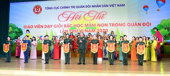 Khai mạc Hội thi Giáo viên dạy giỏi bậc mầm non trong quân đội lần thứ VI năm 2020