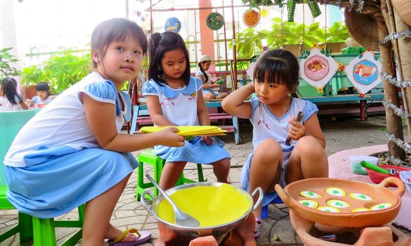 Xây dựng Đề án Phổ cập giáo dục mầm non cho trẻ em mẫu giáo 4 tuổi