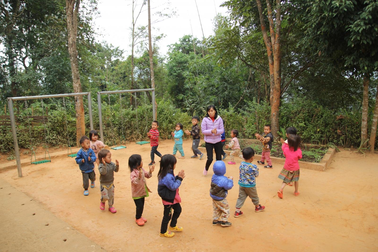 Phổ cập GDMN trẻ 5 tuổi ở Lai Châu: Thành tựu hôm nay là điểm tựa cho ngày mai